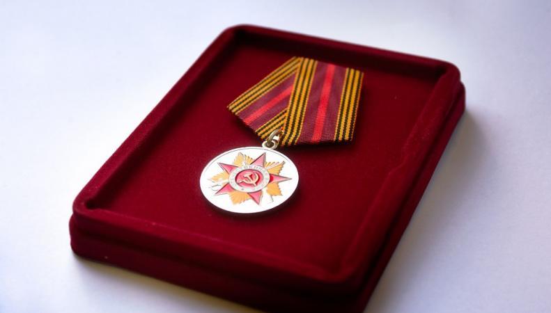 Шотландским ветеранам вручили российские медали