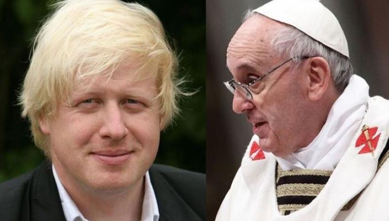 Мэр Лондона отказался от встречи с Папой Римским