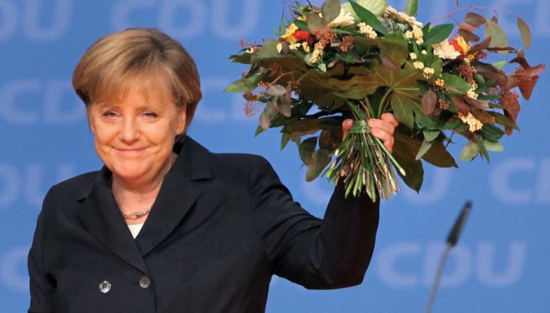 Кандидатура Меркель предлагается на премию мира