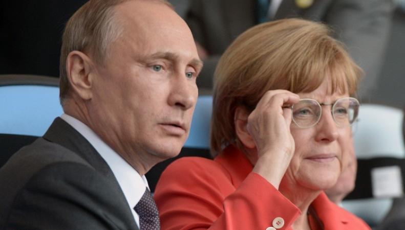 Президент России и канцлер Германии