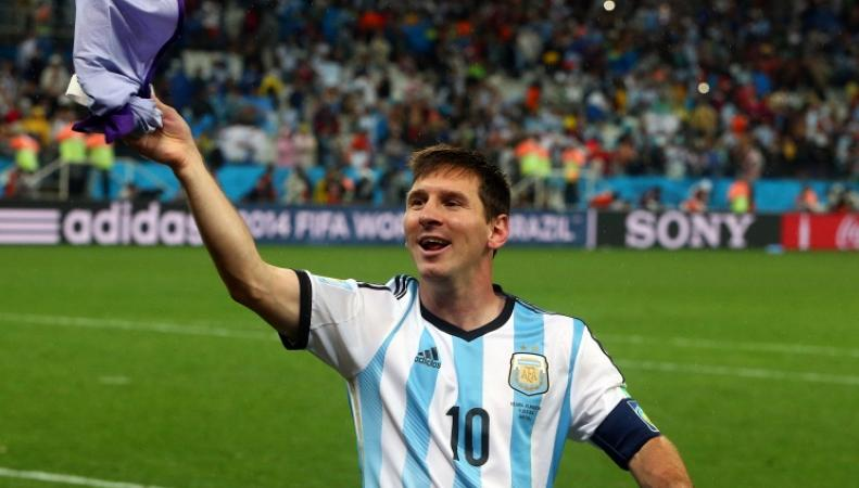 Нападающий сборной Уругвая Лионель Месси