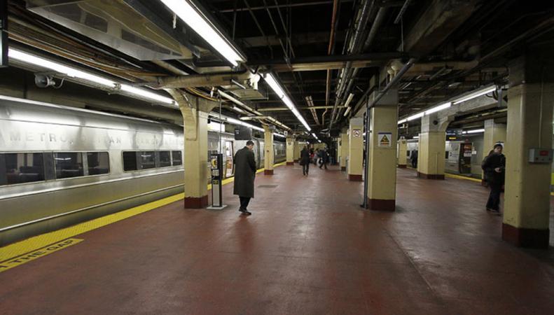 ЧП в метро Нью-Йорка
