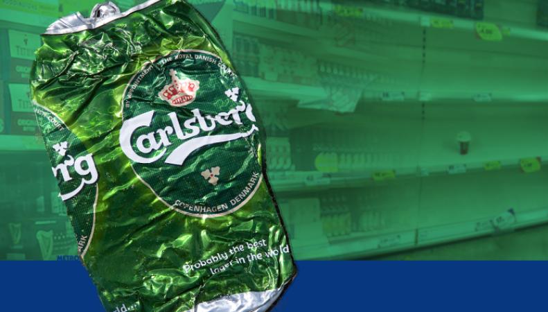 пиво Carlsberg в Великобритании