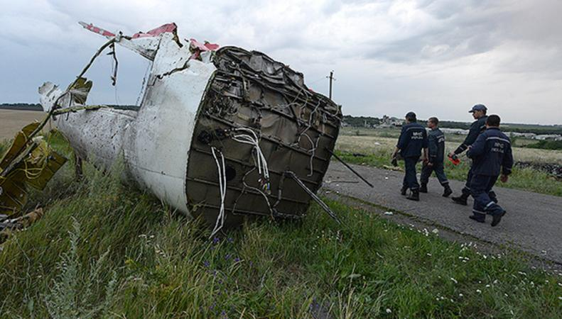Крушение рейса МН17