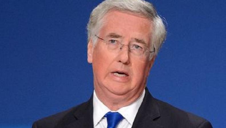 Майкл Феллон пообещал, что Британия удвоит финансирование ВСУ