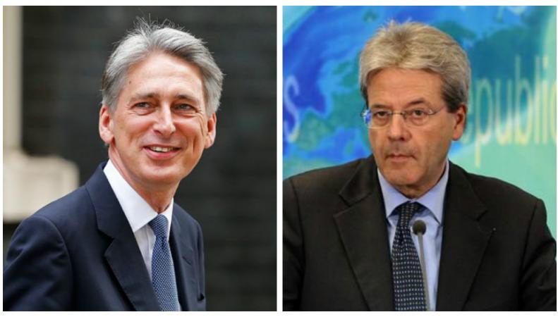 Главы МИД Великобритании и Италии будут совместно добиваться реформы Евросоюза