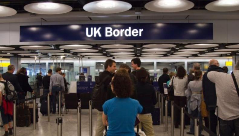 сальдо миграции в Великобритании