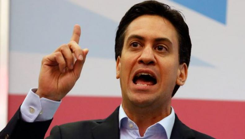 Глава британских лейбористов выступил с предвыборной речью