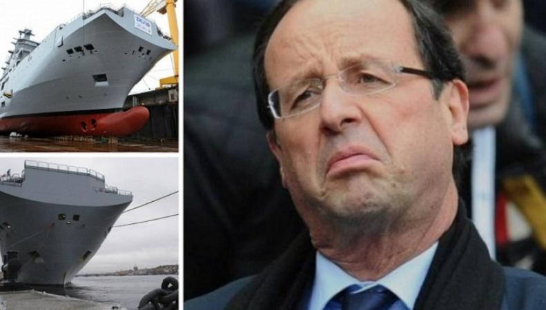 Франция намерена продать России новые корабли