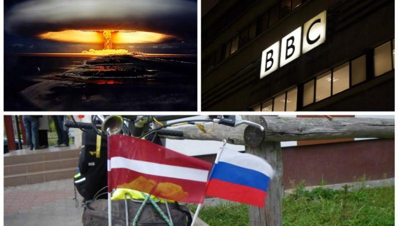 Британские телевизионщики снимают страшилку про нападение России на Латвию