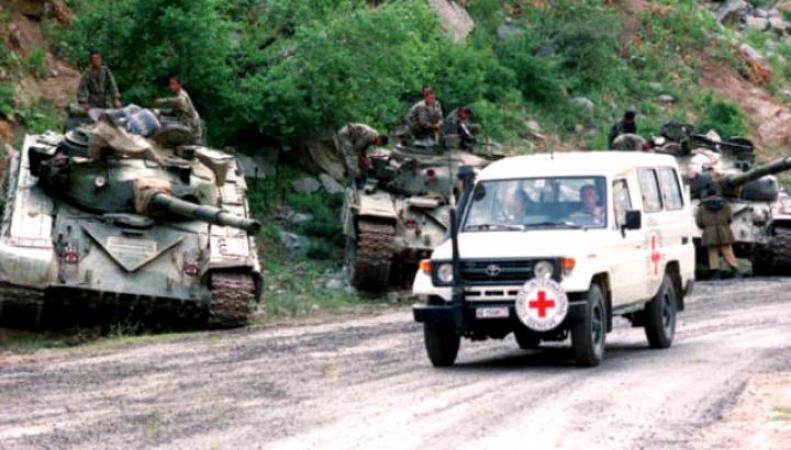 МККК не участвует в доставке гумконвоя РФ на Донбасс
