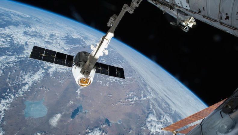 Британский радиолюбитель смог пообщаться с астронавтами на МКС