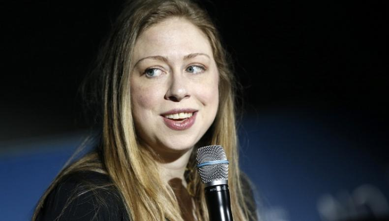 Челси Клинтон, дочь Билла Клинтона и Хиллари Клинтон