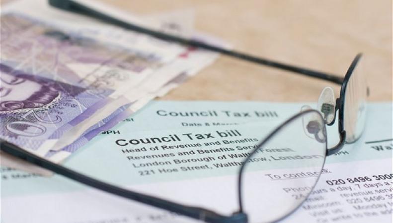 бланк местного налога