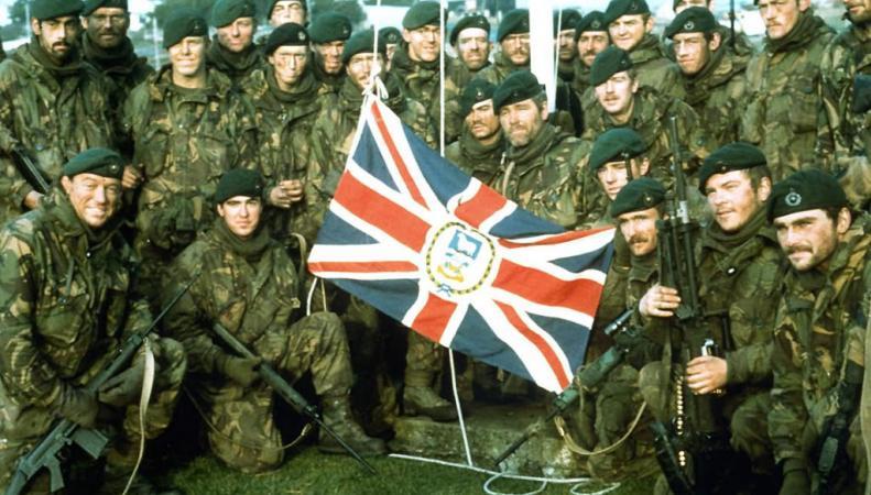 Морские пехотинцы Великобритании