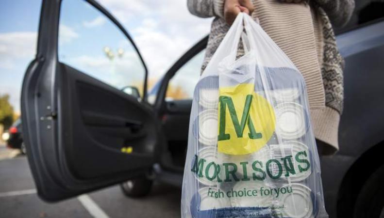 покупки в Morrisons