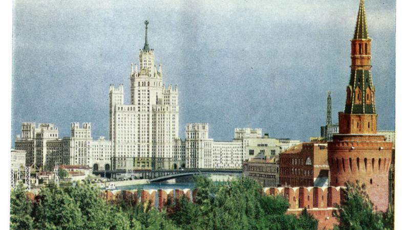 Видео Москвы 1961 года появилось в интернете