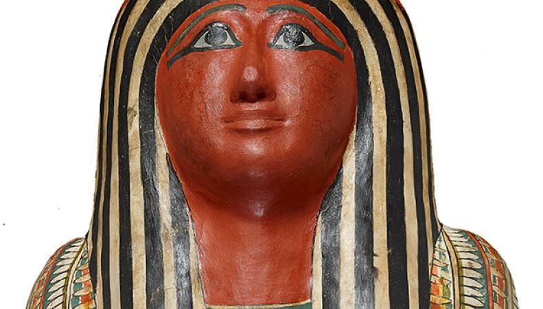 одна из мумий, представленных в музее