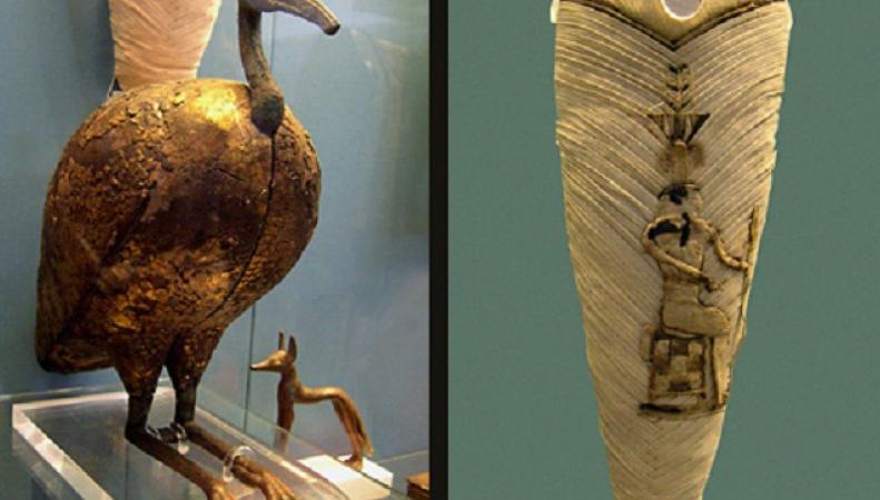 Обнаруженные мумии