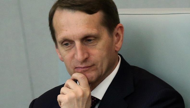 Нарышкин заявил о вреде санкций для отношений России и Японии