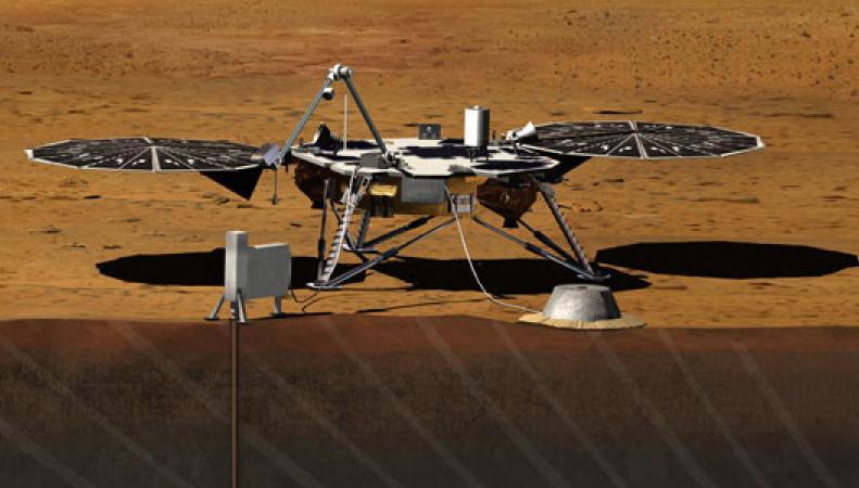 Новый марсианский зонд NASA
