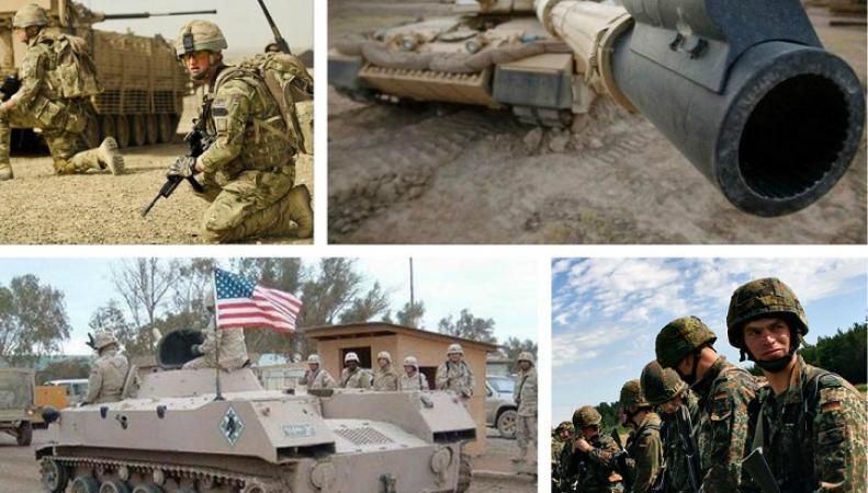 НАТО увеличивает свою мощь из-за уязвимости восточных рубежей