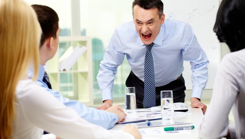Негативные эмоции на работе