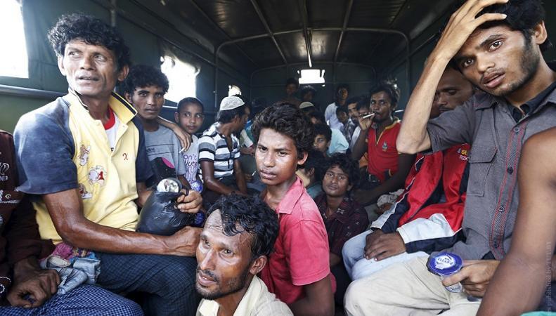 Нелегальные мигранты в Кале