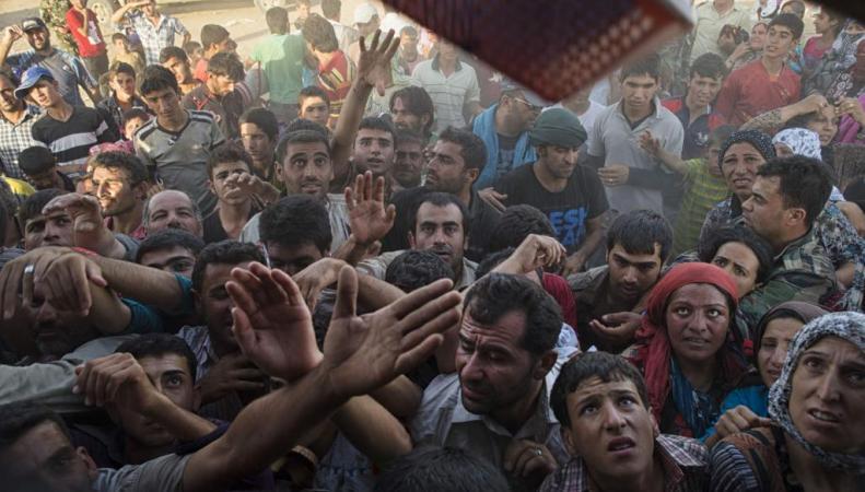 Беженцы из Сирии вынуждают Запад к миру