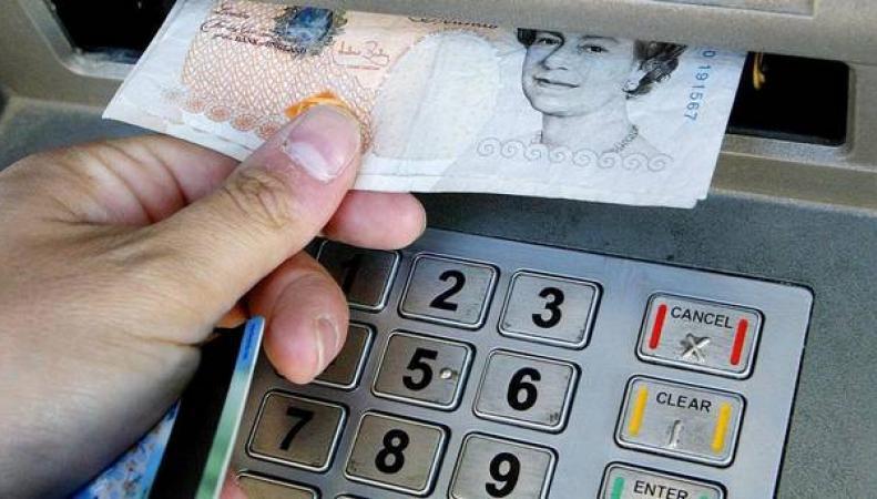 деньги из банкомата