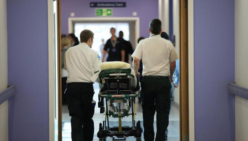 отделение больницы NHS