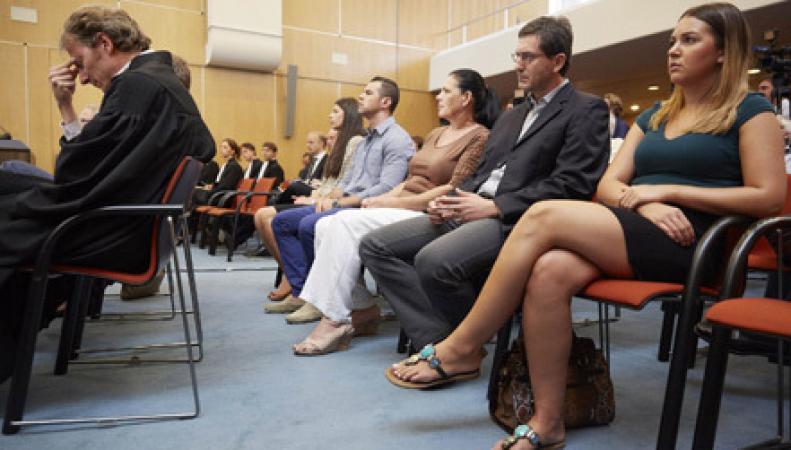 Судебное заседание в Голландии