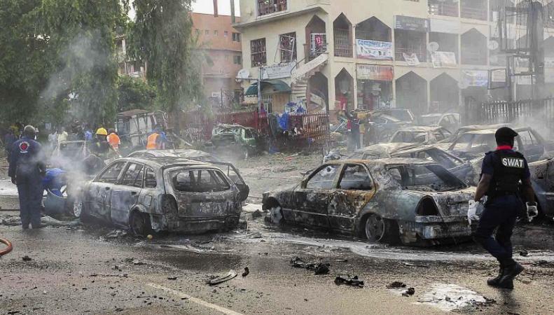 Взрывы в Нигерии