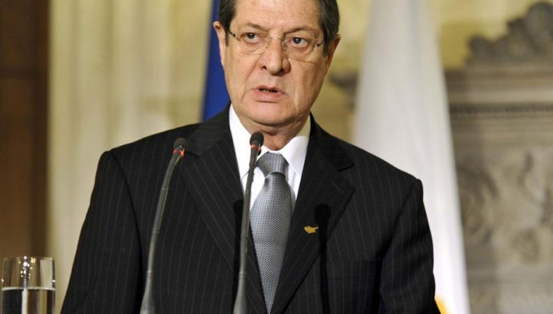 Глава Кипра Никос Анастасиадис: каждая страна Евросоюза должна сама решить вопрос о санкциях против России