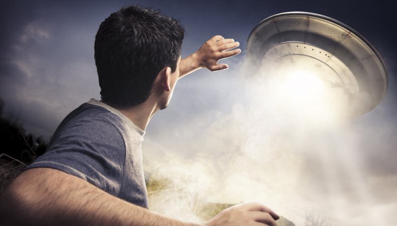 Британца похитил НЛО: интервью