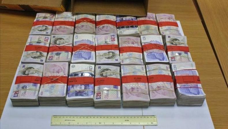 банкноты, изъятые при обыске