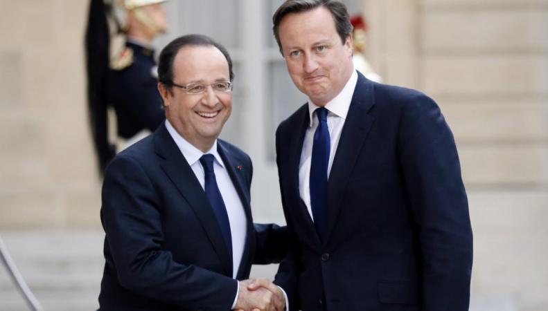 Олланд и Кэмерон