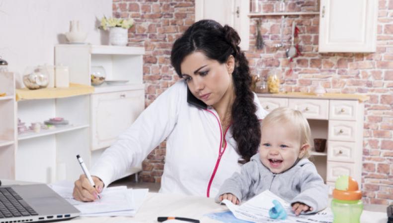 работающие матери