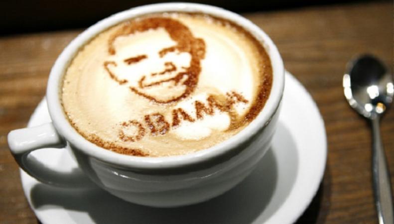 Обаму сравнили с черным и слабым кофе