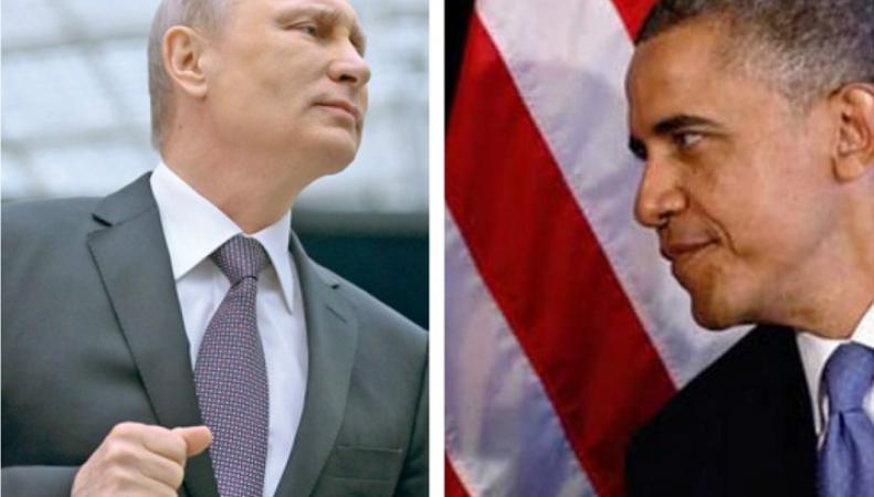 Обама рассказал о ситуации в Сирии и соревновательности с Путиным