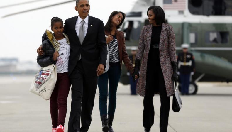 Семья Обама