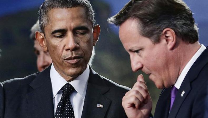 Встреча Обамы и Кэмерона