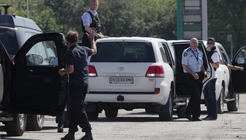 Наблюдатели ОБСЕ в России