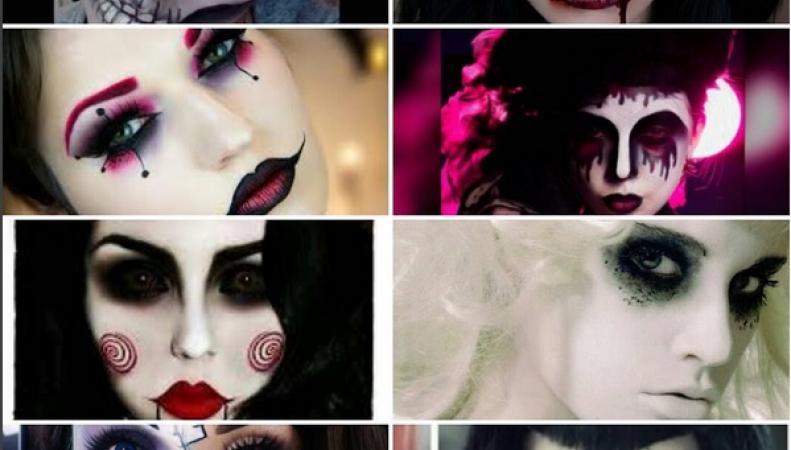 Хэллоуин 2015: идеи и фото макияжа
