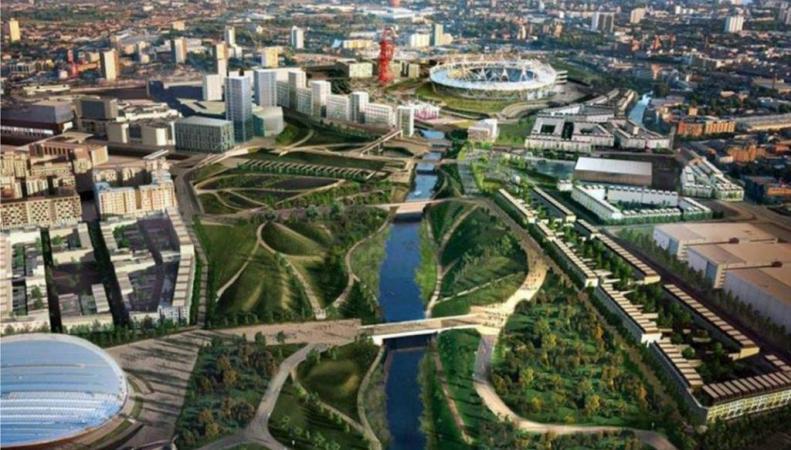 Олимпийский комплекс в Лондоне стал парком