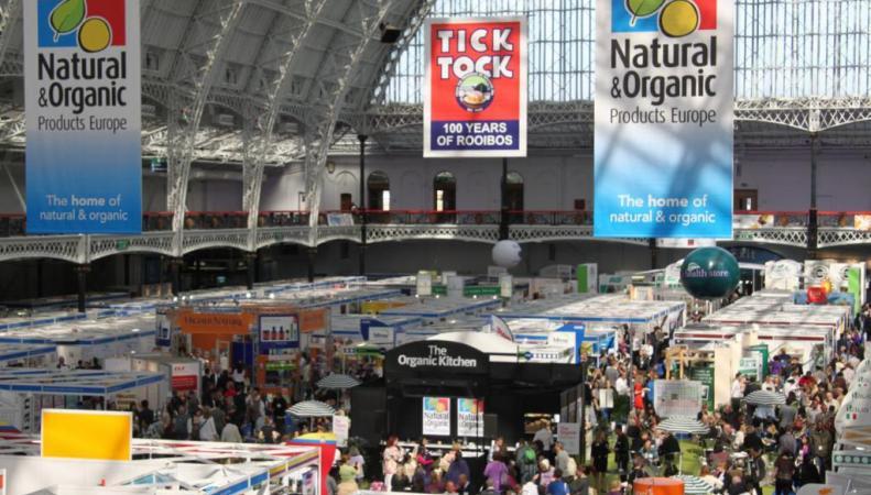 Продукция России была представлена на лондонской выставке Natural and Organic Products Europe 2014