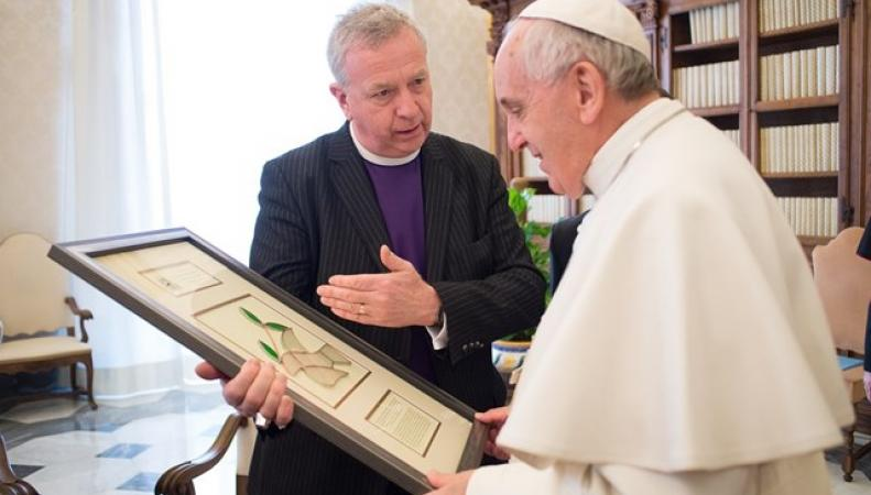 Джон Челмерс и Папа Франциск