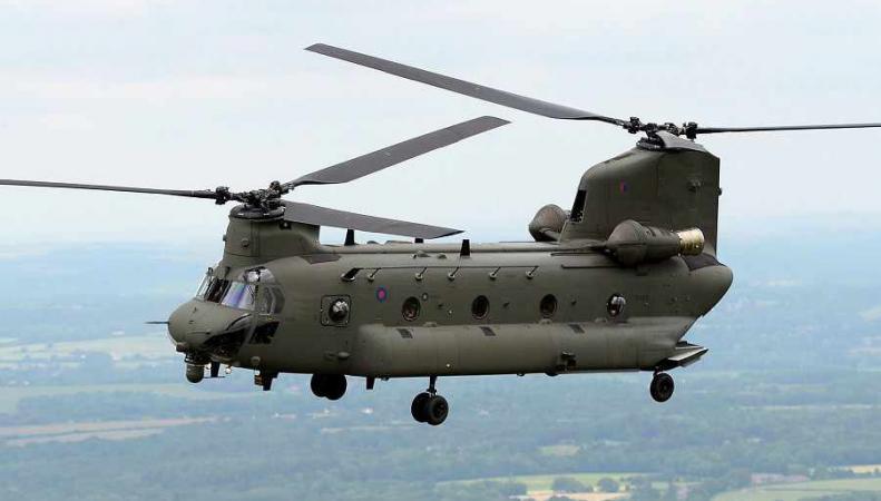 Вертолет Chinook