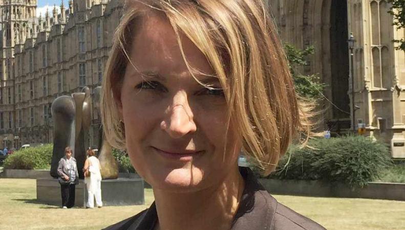 Софи Уолкер - лидер партии WEP