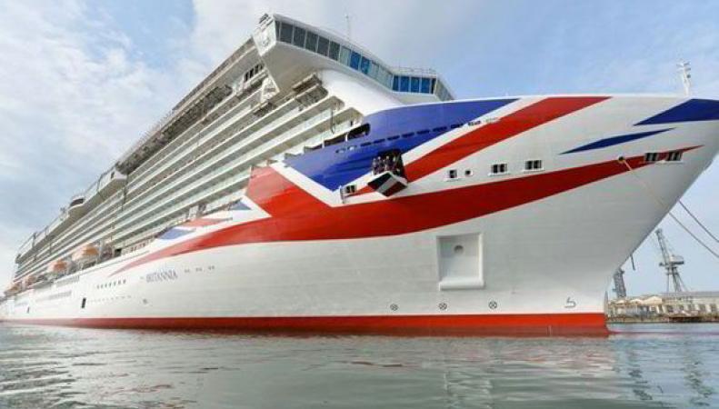 Круизный лайнер Britannia